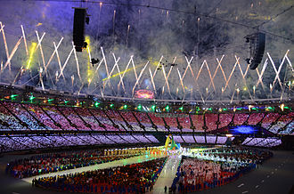 2012 Summer Olympics closing ceremony - Image: 2012 Summer Olympics closing ceremony