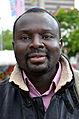 2014-06-02 Sudan Flüchtlinge Protest gegen Abschiebung, Weißekreuzplatz Hannover, (40) Maissara M. Saeed.jpg