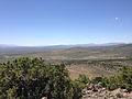 "2014-06-13 12 33 05 View south-southwest from the summit of ""E"" Mountain in the Elko Hills of Nevada.JPG"