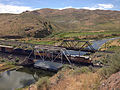 2014-06-21 15 47 03 Train crossing a railway bridge over the Humboldt River in Palisade, Nevada.JPG