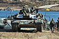 2014.11.12 호국훈련 제11기계화보병사단 도하공격작전 Republic of Korea Army 11th Mechanized Infantry Division (15196010344).jpg