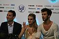 2014 Grand Prix of Figure Skating Final Gabriella Papadakis Guillaume Cizeron Romain Haguenauer IMG 3788.JPG