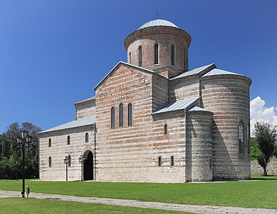 St. Andrew the Apostle Cathedral in Pitsunda, Gagra District, Abkhazia.