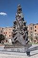 2014 Prowincja Szirak, Giumri, Pomnik ofiar trzęsienia ziemi z 7 grudnia 1988 roku (02).jpg
