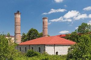 Shusha - Yukhari Govhar Agha Mosque, opened in 1885