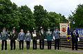 2015-06-20 200 Jahre Schlacht bei Waterloo, Welfenbund, The Royal British Legion, Hannover, Waterloosäule, (14).JPG