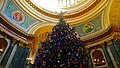 2015 Wisconsin State Capitol Christmas Tree - panoramio (9).jpg