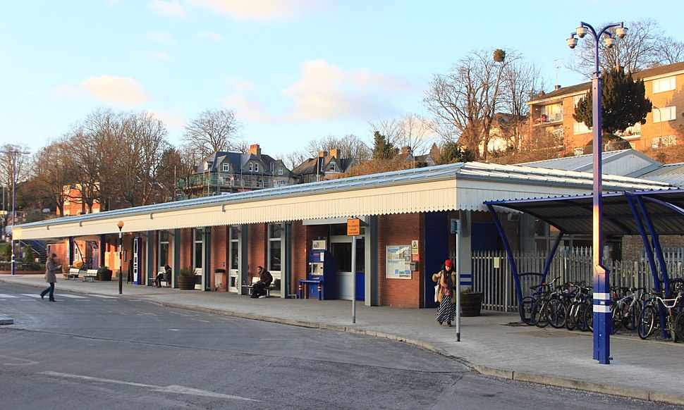 2015 at High Wycombe station - main building