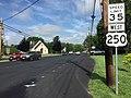 2016-06-03 09 47 24 View west along U.S. Route 250 (West Main Street) near Laurel Avenue in Waynesboro, Virginia.jpg