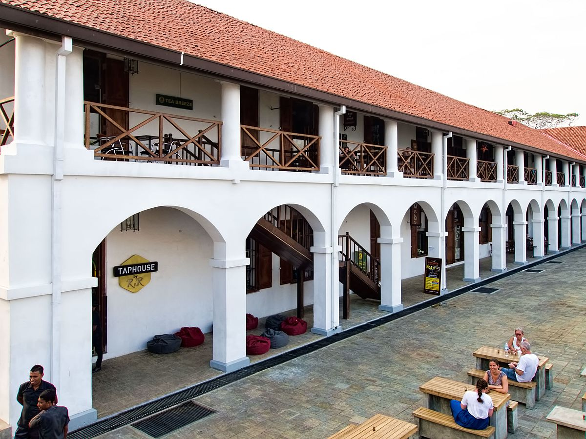 Old dutch hospital galle wikipedia - Sri lankan passport office in colombo ...