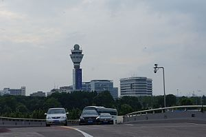 Hangzhou Xiaoshan International Airport - Control tower