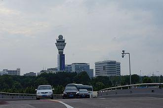 Hangzhou Xiaoshan International Airport - Control tower