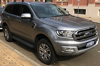 Ford Endeavour 2nd Gen