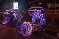 2016 Malakka, Kolorowe riksze rowerowe na Placu Holenderskim (03).jpg