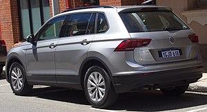 Volkswagen Tiguan - Volkswagen Tiguan 110TSI Trendline (Australia)