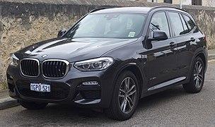 2018 BMW X3 (G01) xDrive20d M Sport wagon (2018-09-17) 01