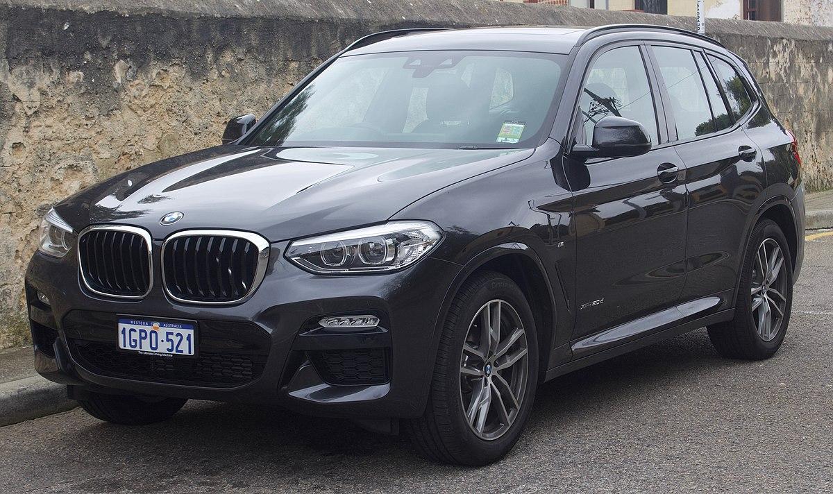 Bmw 5 Series 2016 >> BMW X3 - Wikipedia