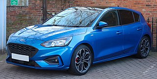 Ford Focus Compact car manufactured by the Ford Motor Company since 1998