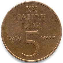 Gedenkmünzen Der Deutschen Demokratischen Republik Wikipedia