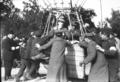 22-9-12, aéro-club, René Le Grain et le vicomte de Lariboisière (avant le départ à Saint-Cloud) - (photographie de presse) - (Agence Rol).png