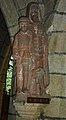 22 Sainte-Marie du Ménez-Hom Statue de saint Hervé aveugle et son loup apprivoisé.JPG