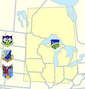 23rd Air Division (United States) - 23rd Air Division ADC/TAC/NORAD Region AOR 1969-1979