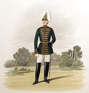 Page Corps - 19th-century uniform