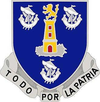 295th Infantry Regiment - Image: 295th infantry regiment distinctive unit insignia