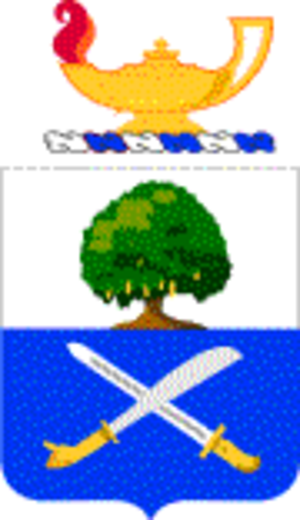 29th Infantry Regiment (United States) - Coat of arms