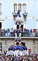 2 de 8 amb folre dels dels Castellers de la Vila de Gràcia.JPG