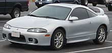 Mitsubishi Eclipse seconda serie dopo il restyling.