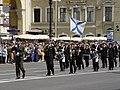 300-летие Санкт-Петербурга. На Невском - адмиралтейский оркестр. - panoramio.jpg