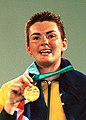 301000 - Athletics track 200m T38 Lisa McIntosh gold medal - 3b - 2000 Sydney medal photo.jpg