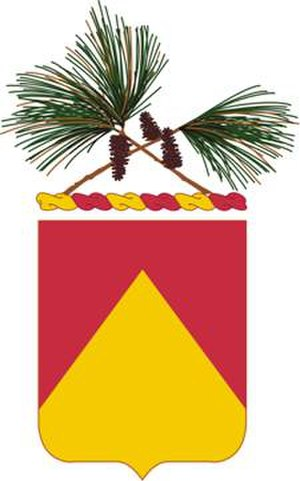 36th Field Artillery Regiment - Coat of arms