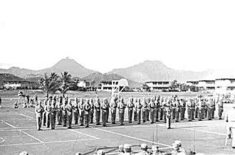 3rd Battalion, 3rd Marines - 3rd Battalion, 3rd Marines arriving in Hawaii, 1953.
