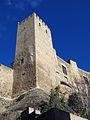 456 Torre mestra del castell de la Suda (Tortosa), des de la Costa dels Capellans.JPG