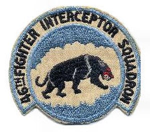 46th Fighter Training Squadron - Air Defense Command 46th FIS emblem