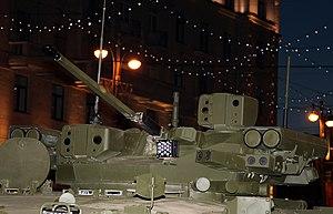 Bumerang-BM - The turret mounted on a Kurganets-25 IFV