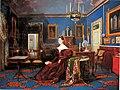 6. Carlo De Falco, Ritratto di Maria Cristina di Savoia nella Reggia di Napoli, Olio su tela, 1834, Napoli, Palazzo Reale.jpg