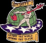 68th Air Refueling Squadorn - SAC - Emblem