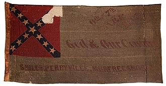 6th Arkansas Infantry Regiment - Image: 6th & 7th Arkansas Infantry Flag