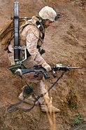 6th Marine Rgt. on patrol in Marja 2010-02-22 2