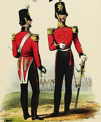 70th (Surrey) Regiment of Foot - Uniform of the 70th (Surrey) Regiment of Foot, 1840s