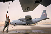 777th Expeditionary Airlift Squadron C-130s Balad AB Iraq