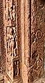 7th century amorous couples in kama mithuna and Vishnu avatar reliefs, Lakshmana Hindu temple, Sirpur Chhattisgarh India 8.jpg