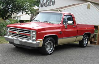 Chevrolet C/K (third generation) American truck series