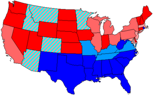 83rd United States Congress - Image: 83 us house membership