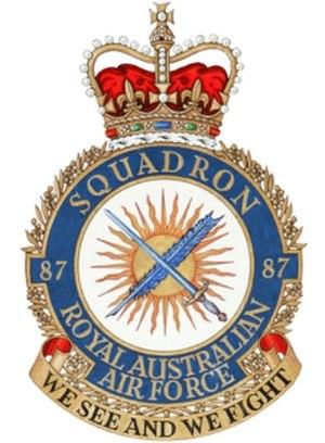 No. 87 Squadron RAAF - Image: 87SQN Badge 2006