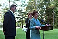 911- Mrs. Laura Bush at Memorial Service, 09-17-2001. (6124769784).jpg