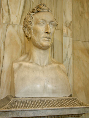 Abbondio Sangiorgio - Portrait bust of Giuseppe De Cristoforis